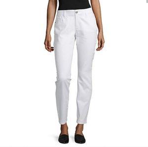 Liz Claiborne city fit skinny boyfriend jeans